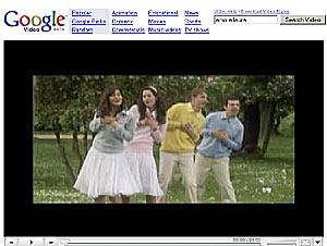 Imagen del vídeo 'Amo a Laura'. (Captura de Google Video)