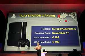 Momento de la presentación de la consola en la Feria E3, en Los Ángeles. (Foto: AP)