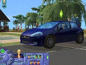 El nuevo Fiat Punto en Los Sims 2. (Foto: EA)
