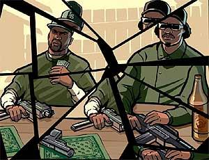 Imagen de promoción de GTA San Andreas, uno de los juegos más polémicos.