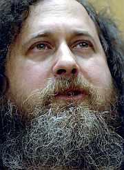 Stallman, en San Sebastián. (Foto: EFE)