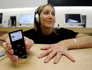 Un iPod de última generación. (Foto: AP)