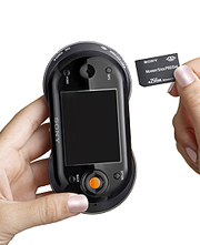 El 'gadget' aceptará tarjetas Memory Stick. (Foto: Sony)