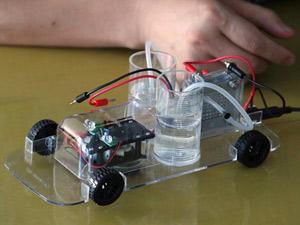 El 'H-racer' funciona con hidrógeno y energía solar. (Foto: Reuters)