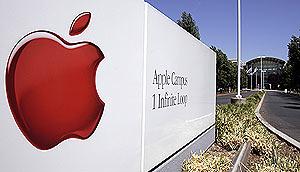 Entrada a la sede de Apple en Cupertino, EEUU. (Foto: AP)