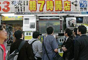Un escaparate de Akihabara, la meca de los compradores de electrónica en Tokio. (Foto: REUTERS)