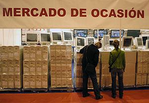 Oredandores listos para su venta en SIMO. (Foto: Bernardo Díaz)