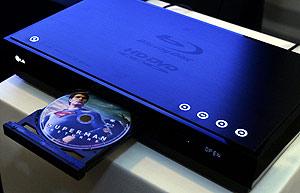 El reproductor de LG Super Multi Blu Player. (Foto: AP)