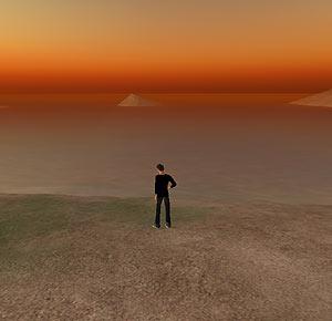 Imagen en 'Second Life'.