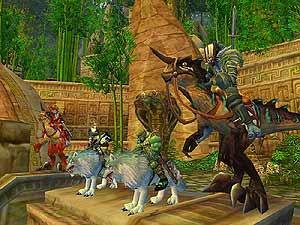 Pantalla de World of Warcraft.