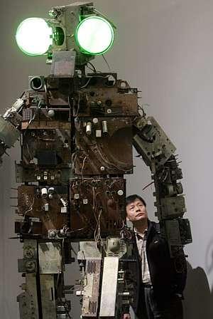 La obra de Nam June Paik combina tecnología y pensamiento oriental. (Foto: EFE)