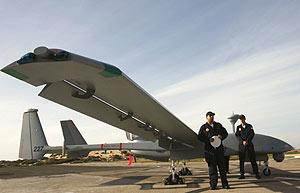 La aeronave, durante su presentación. (Foto: REUTERS)