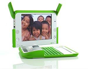 El ordenador XO, de la Fundación OLPC. (Foto: AFP)