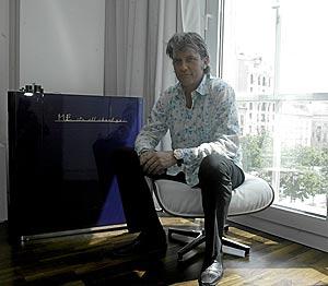Chris DeWolfe, en Madrid. (Foto: Julián Jaén)