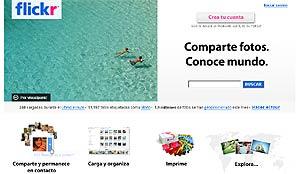 Portal de 'Flickr' en español