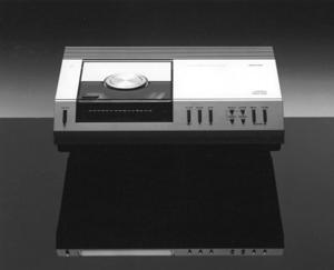 El primer reproductor de CD de Philips. (Foto: AFP)