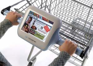 Imagen de un carrito con pantalla. (Foto: Springboard)