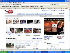 Portada del portal de vídeos Youtube. (Foto: www.youtube.com)