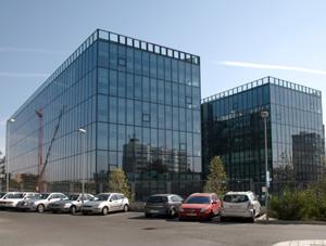 Exterior de la nueva sede de Electronic Arts. (Foto: EL MUNDO)