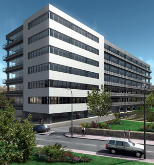 Otra perspectiva del edificio. (Foto: EA)
