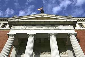 Sede de la RAE en Madrid. (Foto: Bernabé Cordón)