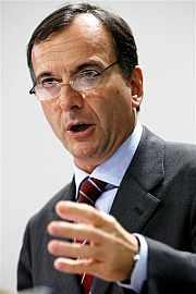 El comisario de Justicia, Franco Frattini. (Foto: AP)