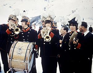 Fotograma de la película de los Beatles.