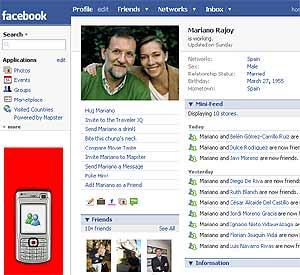 Perfil de Rajoy en Facebook. (Foto: elmundo.es)