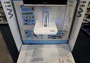 Una consola Wii en una tienda de California. (Foto: AP)
