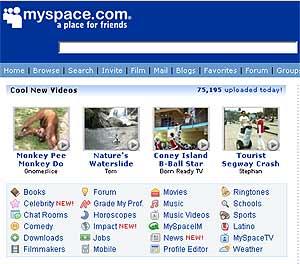 Portadade MySpace.