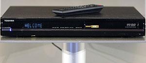 Toshiba HD-A30 HD DVD, reproductor de alta definición a 1080p. (Foto: REUTERS)