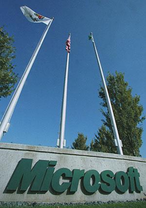Entrada a la sede de Microsoft, en Redmond (EEUU). (Foto: AP)