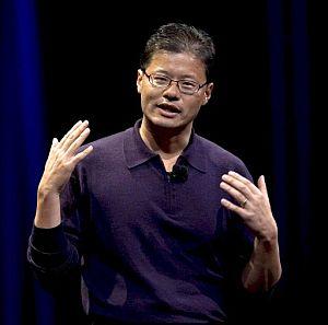 El cofundador y director ejecutivo de Yahoo!, Jerry Yang. (Foto: EFE)