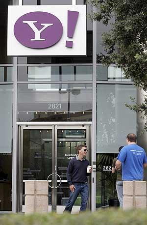 Una de las entradas a la sede de Yahoo! en Santa Clara, EEUU. (Foto: AP)