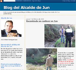 El blog del alcalde.