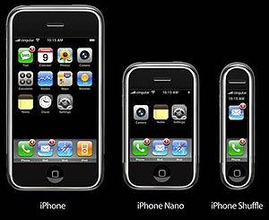 Más rumores: ¿habrán nuevas versiones reducidas del iPhone? (Imagen: OTR)