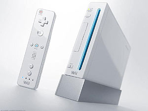 Consola Wii.