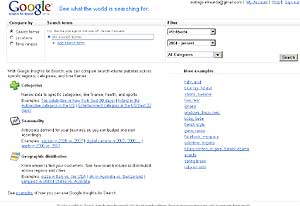 Pantalla de la nueva herramienta de Google.