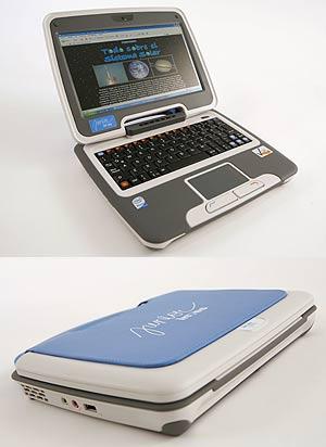 El nuevo portátil de Inves para niños. (Foto: Inves)