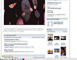 Apariencia de la nueva versión de Facebook.