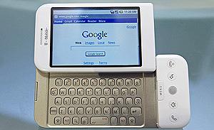 El primer móvil con software de Google, operado por T-Mobile. (Foto: REUTERS)