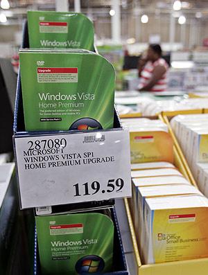 Paquete de Microsoft Windows Vista. (Foto: AP)