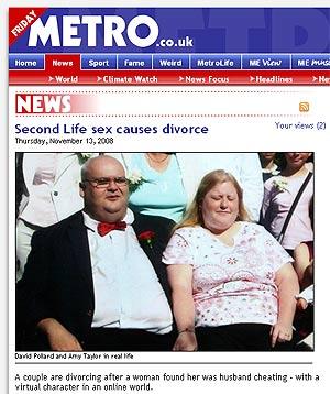 David Pollard y Amy Taylor, los protagonistas de la historia que publica la prensa británica.