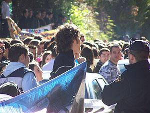 Imagen de los manifestantes en Madrid (Foto: Siomara Martínez) Más imágenes