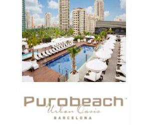 Hotel Puro beach