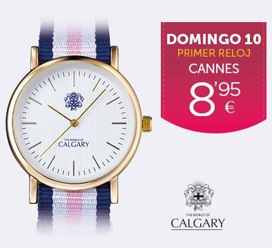 DOMINGO 10 PRIMER RELOJ POR 8,95€