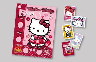 ALBUM CROMOS, HELLO KITTY