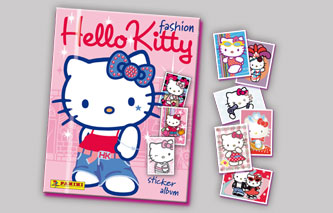 ÁLBUM Y CROMOS DE HELLO KITTY