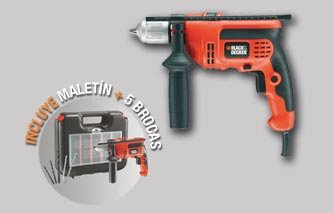 TALADRADORA BLACK & DECKER