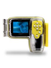 Videocámara acuática  con carcasa